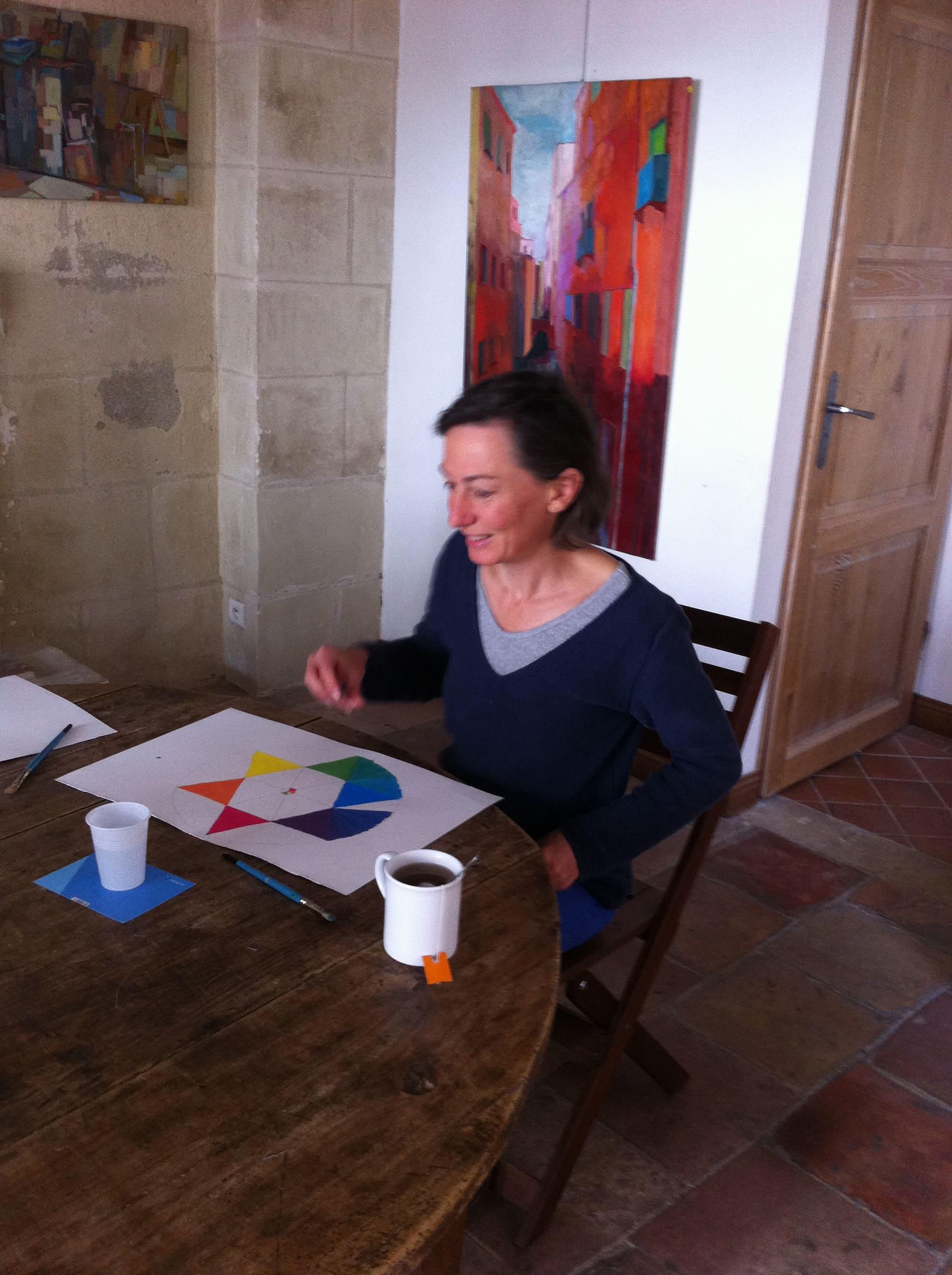 Cours Adultes Peintures Atelier Raphael Poitiers