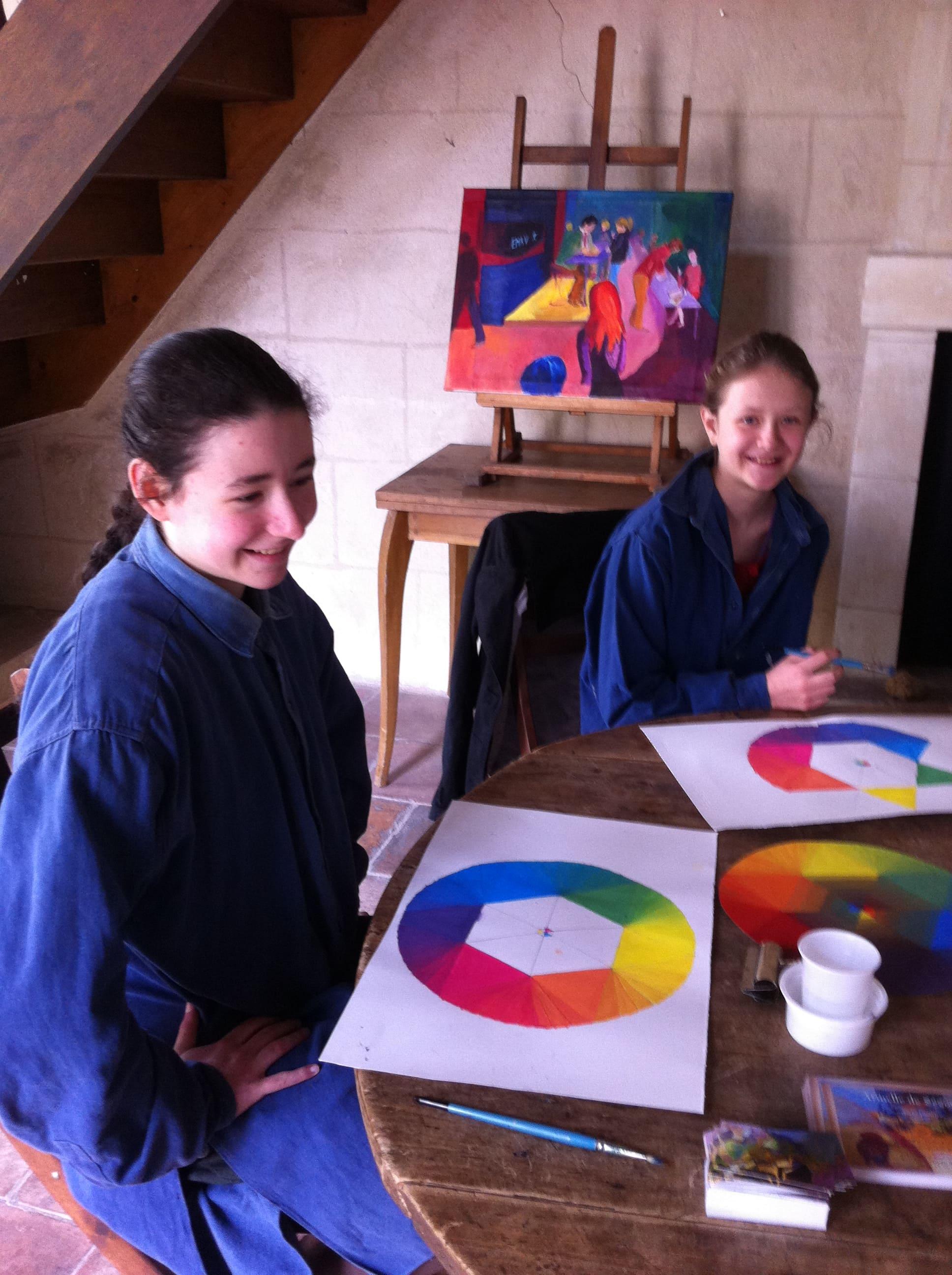 Cours atelier Raphael Peinture Poitiers