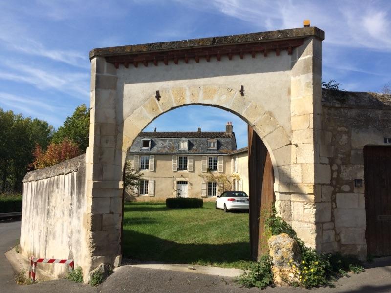 Chambres d'hôtes - Entrée chambres hotes et artistes en poitou proche Poitiers