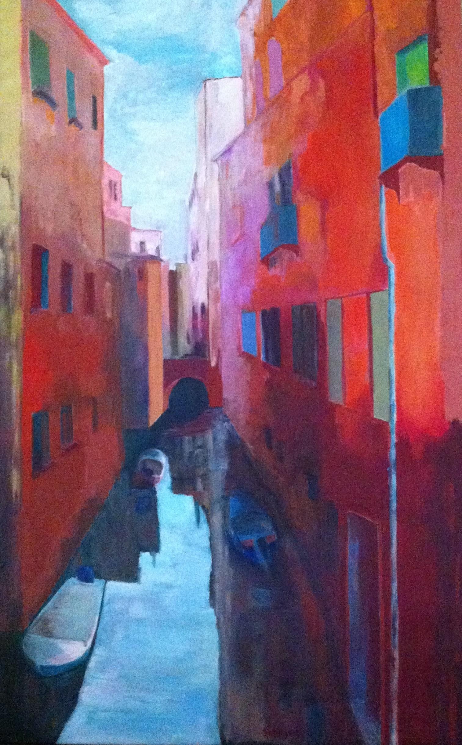 Hôtes et artistes en poitou - Canaletto à Venise - Huile sur Toile