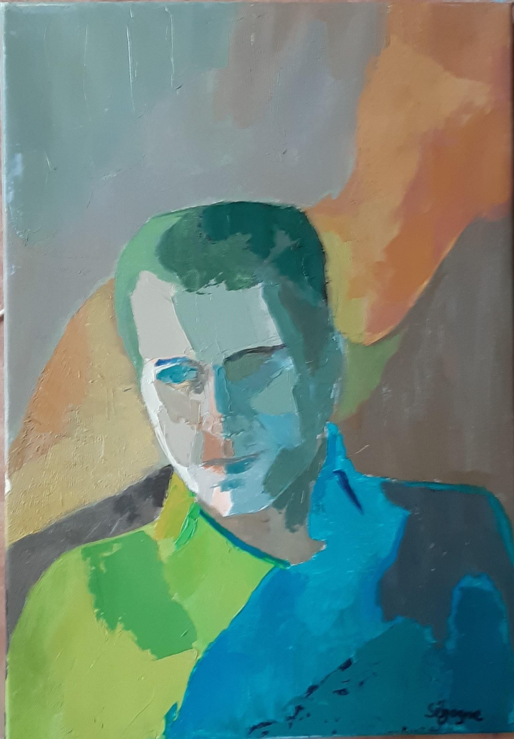 Hôtes et artistes en poitou - Portrait de Clide Owen