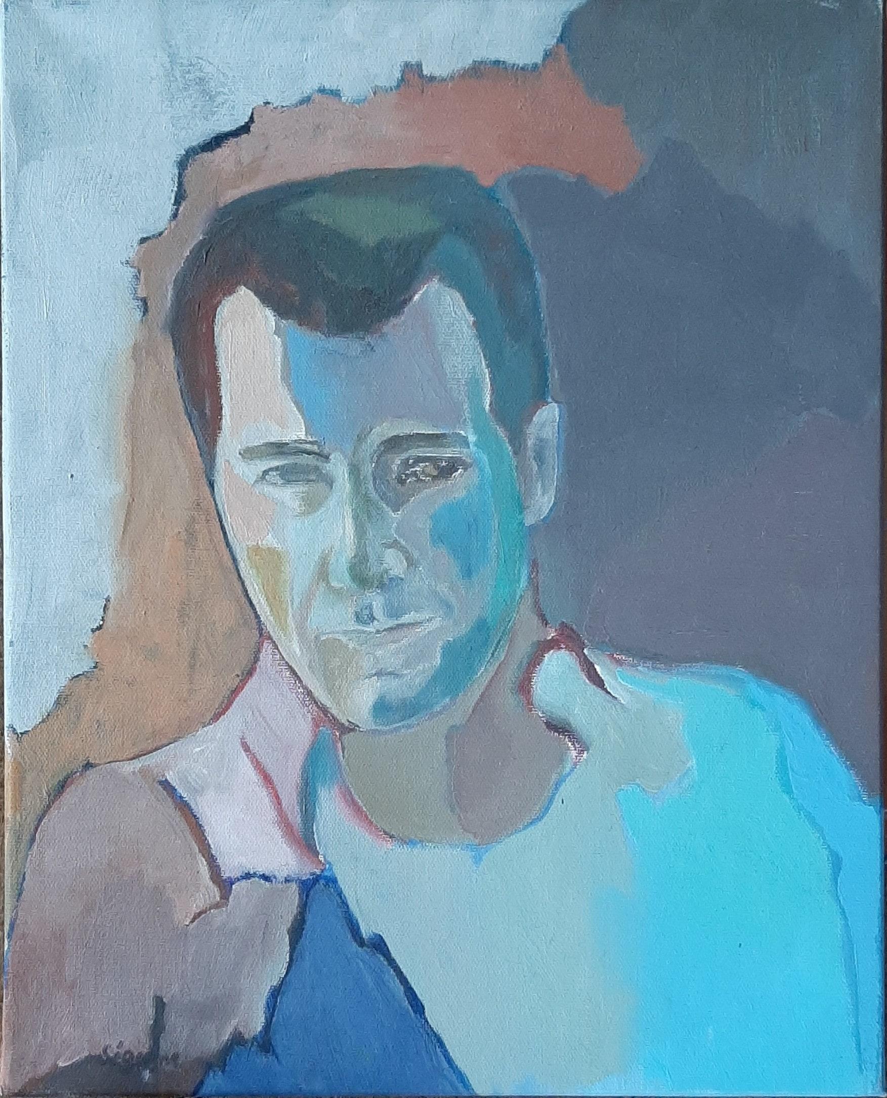 Hôtes et artistes en poitou - Portrait de Clive Owen