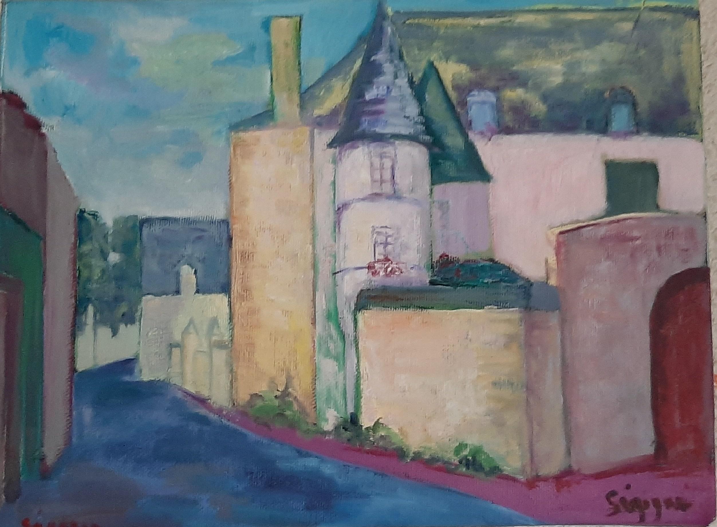 Hôtes et artistes en poitou - Village de Huismes